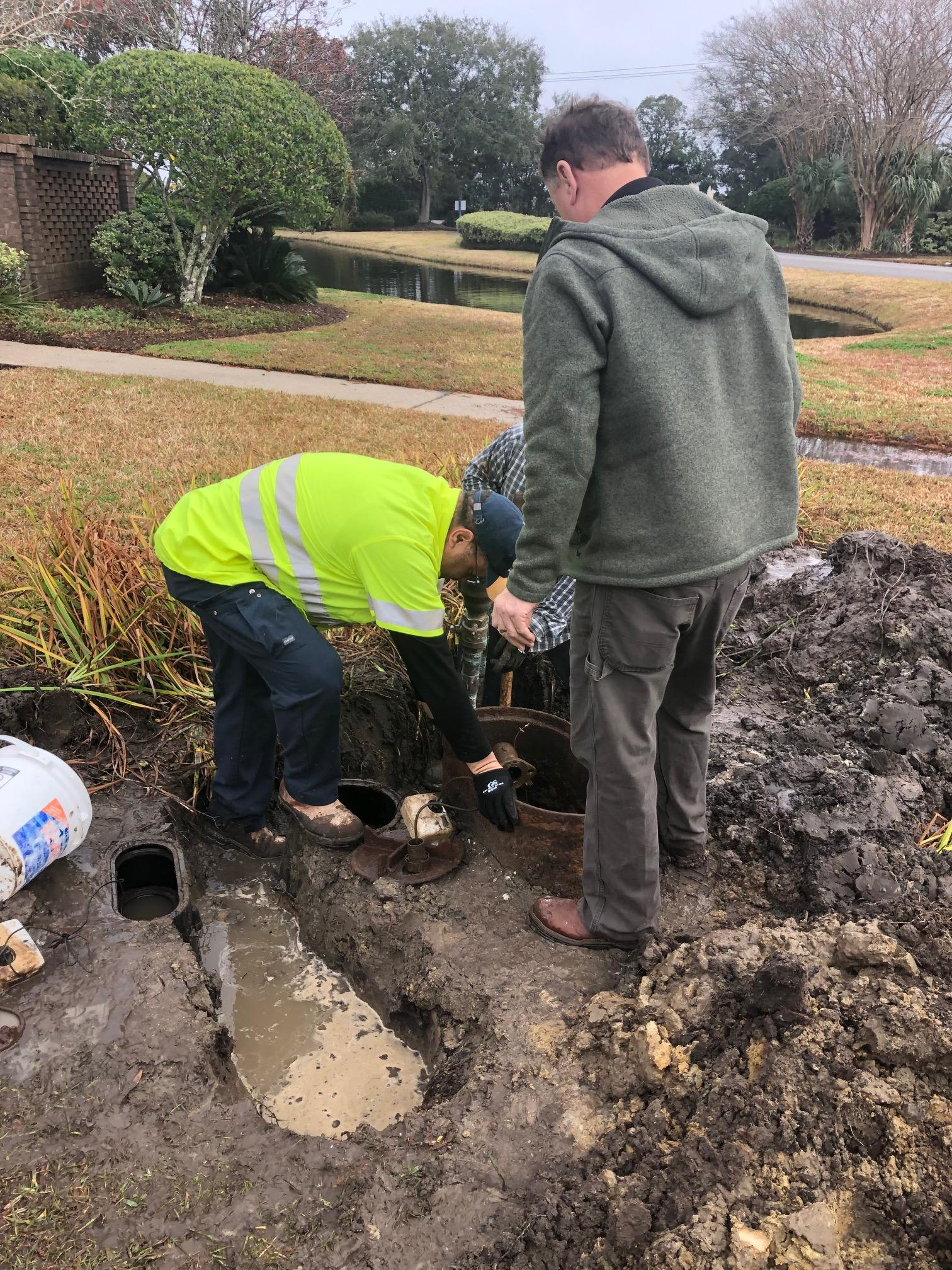 leak detection Charleston