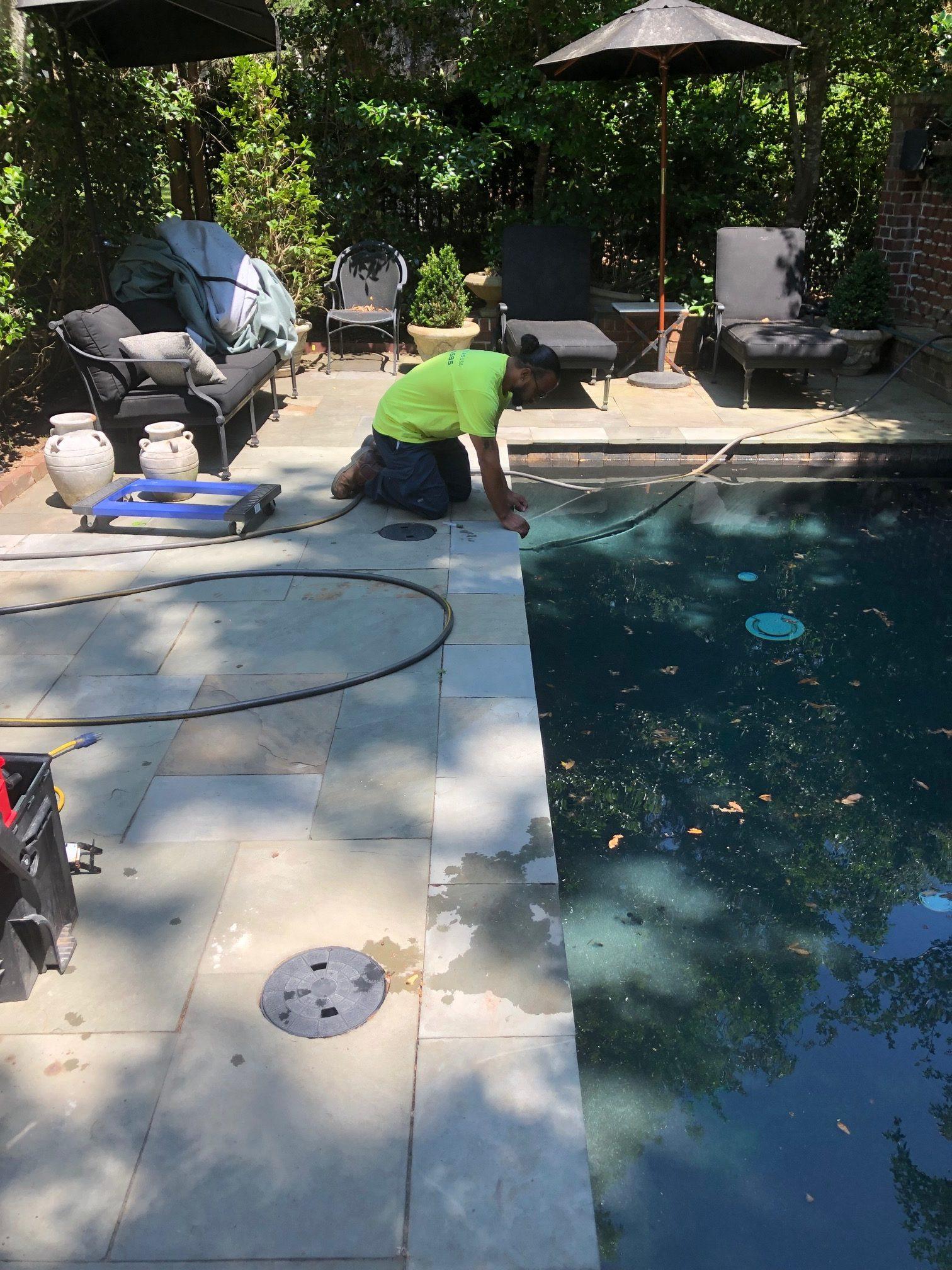 Charleston Pool Leak Detection May 2019 Leak Masters Usa